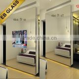 Television screen mirrors , TV Bathroom Mirror for hotel EB GLASS BRAND