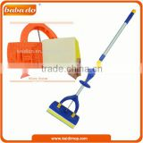 Foldable miracle collapsible sponge mop