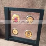 Challenge Coin Case - Four Coin Display, Challenge Coin Displays, Military Coin Display Cases