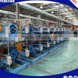 Tire cap strip cutting machine