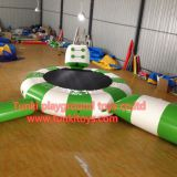 Water Giant Inflatable Sports Games For Open Water , Bouncia Inflatable Floating Water Park