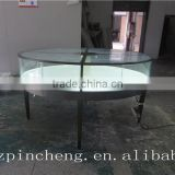cartier classic style jewelry display furniture, jewelry shop furniture showcase with led light
