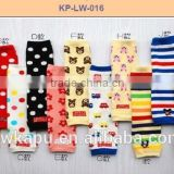 High Quality lovely baby product football baby leg warmers wholesale in stock