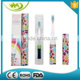 Kids/Baby Care Toothbrush Safety Electric Toothbrush with Battery Operated Waterproof Design