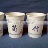 LOGO Printed Paper Cups Single/Double/Ripple Wall for Coffee/Ice cream/Food/Cola,China Leading Factory (BRC,FSC,ISO,FDA,SGS)