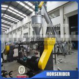 waste plastic pc defroster granulator pelletizing recycling line/pc windshield heater scraps grinding recycling plant