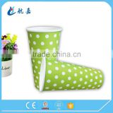 Wholesale disposable 16oz hot sell pe coated cold drink paper coffee cup