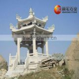 Chinese Outdoor Stone Pavilion
