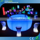 GLACS Control RGB True Color Changing Cool LED Bar Counter Stand up Bar Tables
