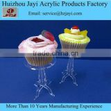 China supplier wholesale acrylic mini cupcake boxes and packaging,clear cupcake boxes wholesale