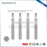 Optional Ceramic and Glass Heating Element Wax Pen Vape Adjustable Voltage