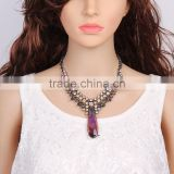 New fashion big teardrop pendant choker necklace for women accessories