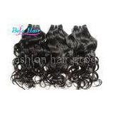 Chocolate / Wine Red Brazilian Virgin Human Hair Water Wave Hair Weave