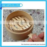 high quality wholesale chinese bamboo food portable steamer