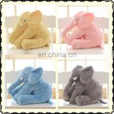 Happy Island latest elephant pillow animal plush toys plush toy elephant stuffed animal toy for sale