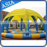 Specialty inflatable outdoor swimming pool tent, Inflatable party/ event/ exhibition/ advertising tent