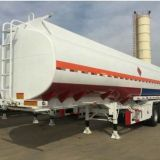 Sinotruk 3 Axle 45000L Carbon Steel Fuel Tanker Trailer