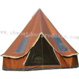 Customized Size  Camping Luxury Cotton Hiking Bell Tent