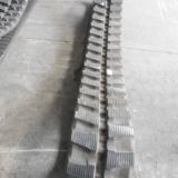 Rubber Tracks 300*55*72 for Mini Excavator Hanix H22/Terex Am29