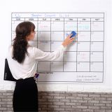 Custom Dry Erase Monthly Yearly Wall Calendar Planner with stainproof technology