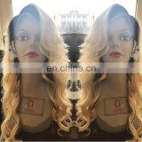 Cheap lace front wig with baby hair 100 human hair lace front wigs