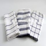 line cotton kitchen tea towels China factory supply