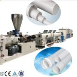 Drainage And Electric Conduit PVC Plastic Pipe Extrusion Machine , PVC Pipe Production Line