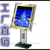 LED display stand sign\ floor stand-Light Emitting Diode pop board\advertising stand signs