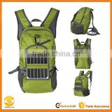 waterproof Solar Hiking Daypack,solar battery backpack,solar folding hiking backpack