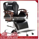 Top quality salon furniture new design barber chair Luxury Stainless Steel Barber Chair barber shop waiting chairs