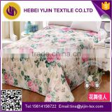 China textile 100% cotton comfortable printed bedding set