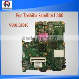 100% Working V000138010 Motherboard For Toshiba Satellite L300 Laptop Mainboard