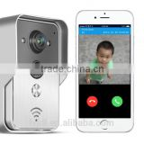 Lowest price video peephole door camera with CE certificate