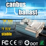 2016 China factory car light h1 h3 9006 9005 hid light bulb digital hid tube electronic canbus pro ballast 35w 23KV 12v 24v
