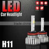 Factory sale!! Automobile headlamps head light 25w led flooding car headlight COB glow Light 12V 24V led car light for cars