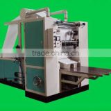 full-automatic DC-AA Facial tissue napkin folding and embossing machine napkin folder and embosser machine for sale