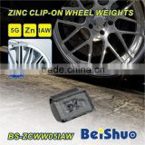 Zinc Clip-on Tire Wheel Weight for Balancing
