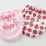 infant products made in japan underwear toddler potty cotton training pants 2pcs set baby four layered absorption kid wholesale