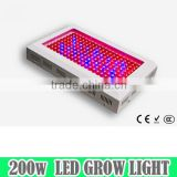 factory wholesale greenhouse led plant hydroponics 200w spider cob led grow light