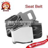 Jacquard Polyester Webbing Aircraft Safety Belt in Black Color                                                                         Quality Choice