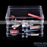 clear acrylic cosmetic & makeup organizer with 3 drawer wholesale                                                                         Quality Choice