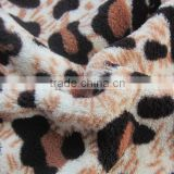 factory supply super soft 100% polyester two brush tricot fleece fabric