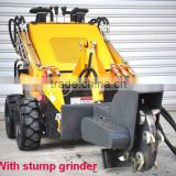 mini skid steer loader,stump grinder,dingo Bobcat like,quick hitch,various attachments