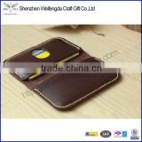 fashion design leather card holder smart business card case for promotion