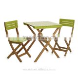 Wooden Folding Garden Table Set,Chair Set,Wooden Bistro Table Set,Bistro Chair Set,Patio Wooden Table Set,Garden Chair Set