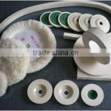 buffing bonnet wool felt high quality wool bonnet and wool buffing pad for car polishing