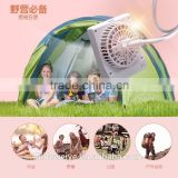 Outdoor Sport Multifunctional Charging Fan Small Powerful Cooling Fan Mini Handheld Battery Operated Pocket Fan