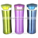 400ml new design Stainless Steel Travel Mug with Easy-Clean Lid &Auto Mug car mug&Portable vacuum thermos mug *office desk mug