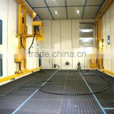 Q26 series CE&ISO certificated ,hot sale, sand blasting chamber for complex workpiece