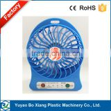 3-level High Speed Portable Fan Mini USB Handheld Rechargeable Fan Great for Hiking, Fishing, Camping